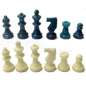 Serie di scacchi in alabastro di Volterra 18098B