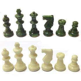 Serie di scacchi in alabastro di Volterra 18098V