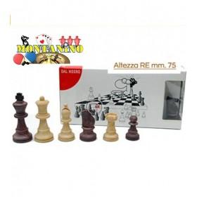Set completo scacchi in plastica Dal Negro. 18055