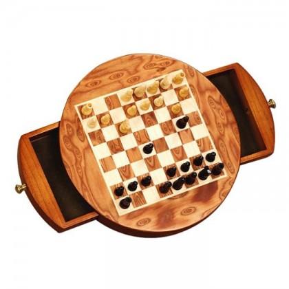 Scacchiera magneticacon scacchi in legno Dal Negro.18395