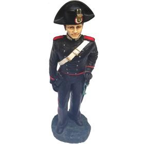 Statua carabiniere dipinta a mano. 21219