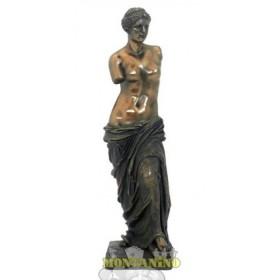 Statua Venere di Milo in resina bronzata 24147