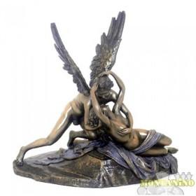 StatuaAmore e Psiche di Antonio Canova in resina bronzata 24171