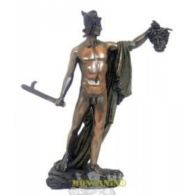 StatuaPerseo in resina bronzata 24182