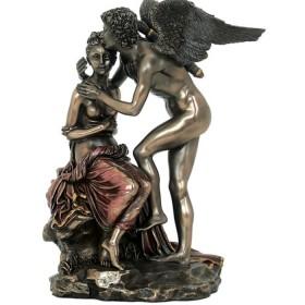 Cupido Dio dell'Amore in resina bronzata  24555