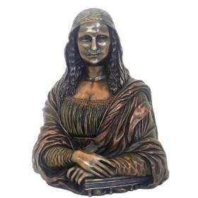 Statua a mezzo busto della Gioconda di Leonardo