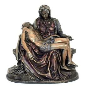 La Pietà di Michelangelo realizzata in resina bronzata (media)         24510