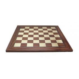 Base per scacchi in legno di acero e palissandro. 18395