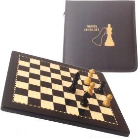 Scacchiera magnetica e scacchi da viaggio c.30x30 casa mm.30 .18542